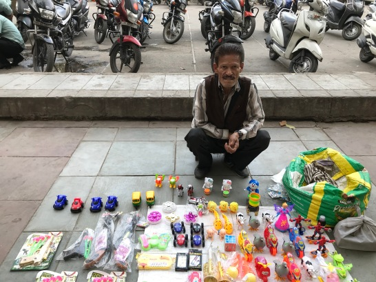 Rakesh Suri, toy-seller.